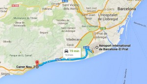 Plan Situation Garraf