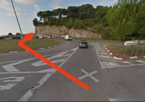 Rond point C31 Garraf